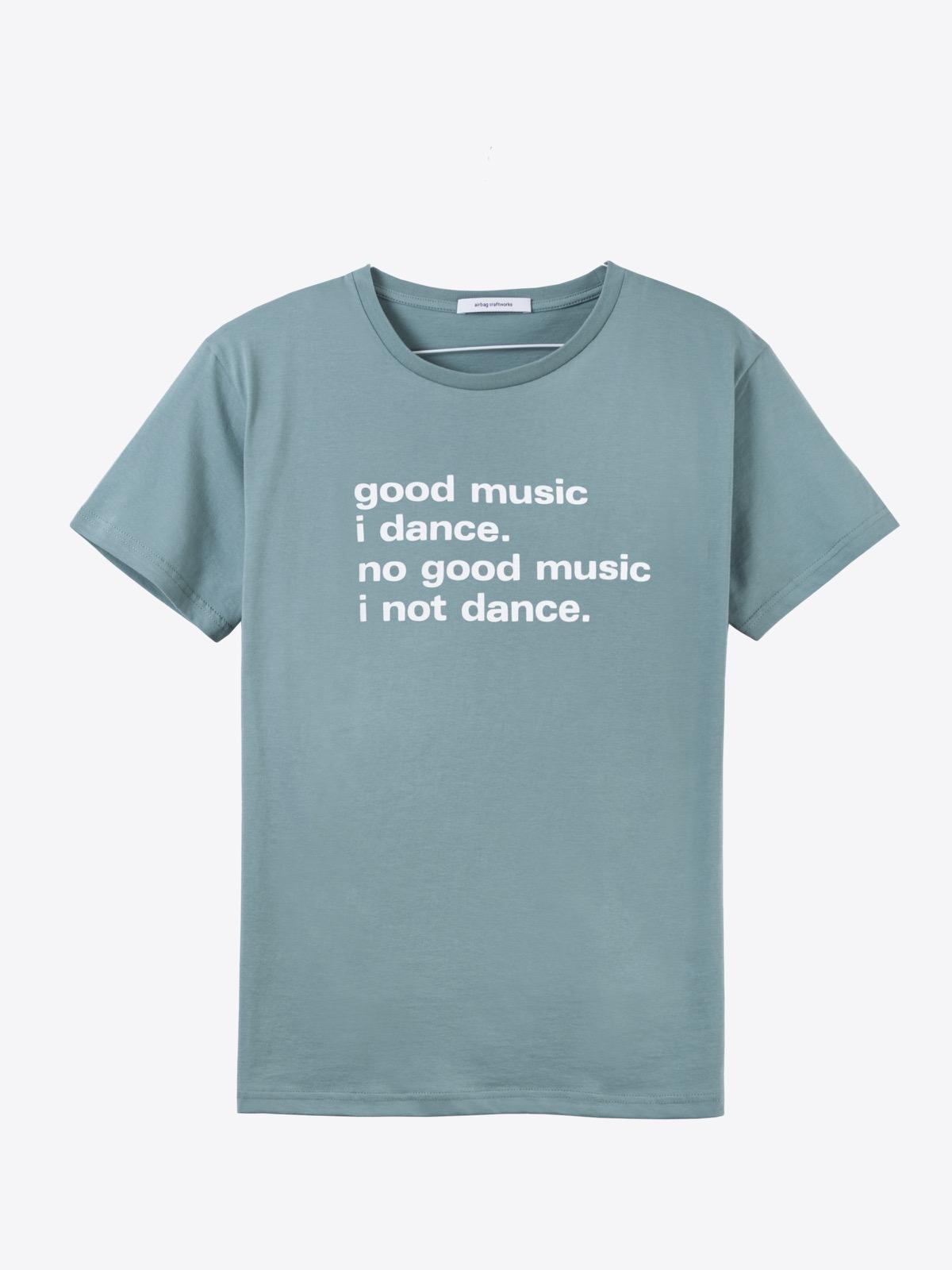 airbag craftworks good music i dance | mint grey