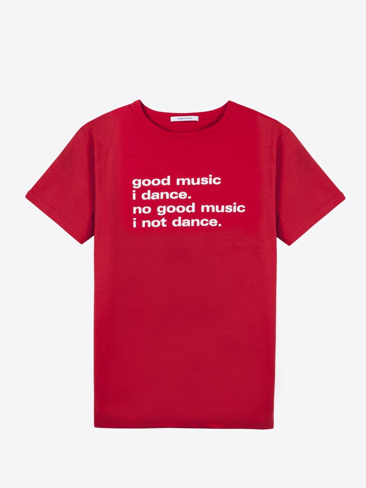 airbag craftworks good music i dance | red